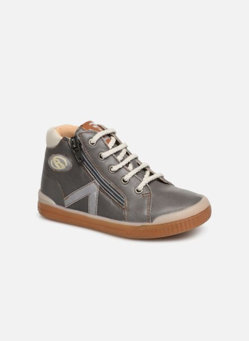 Trainers Babybotte B3 Lacet Grey detailed view/ Pair view