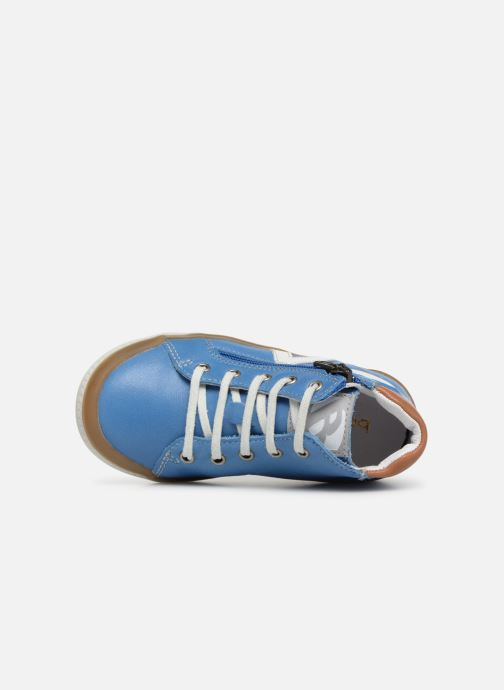 Trainers Babybotte B3 Lacet Blue view from the left