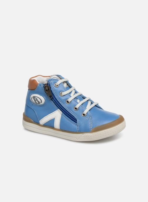 Trainers Babybotte B3 Lacet Blue detailed view/ Pair view
