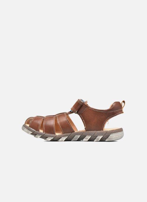 Sandali e scarpe aperte Babybotte King Marrone immagine frontale