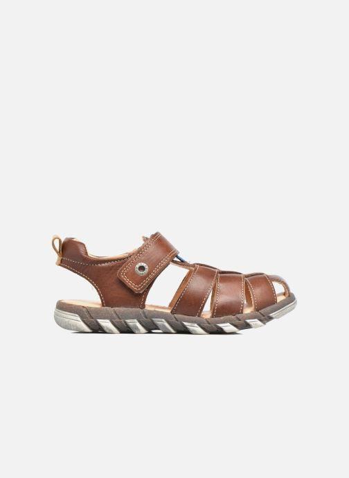 Sandali e scarpe aperte Babybotte King Marrone immagine posteriore