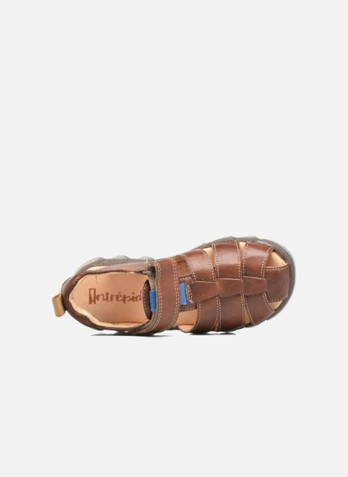 Sandali e scarpe aperte Babybotte King Marrone immagine sinistra