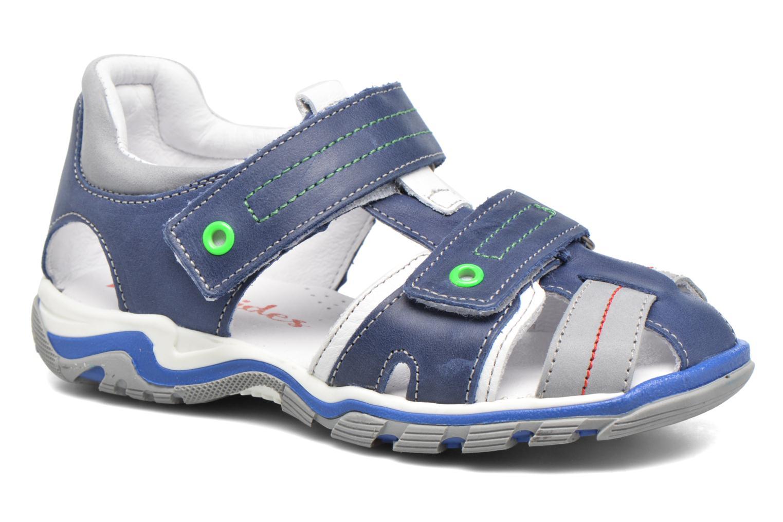 Sandalen Babybotte Karter Blauw detail
