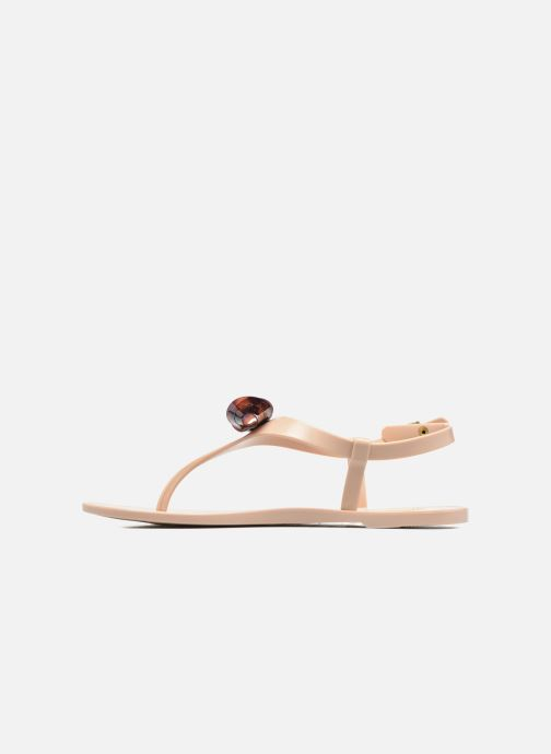 Sandals Lemon Jelly Fold Beige front view