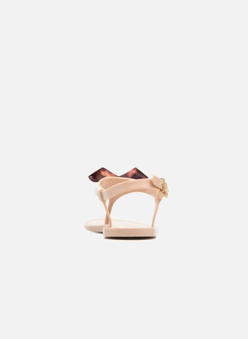 Sandals Lemon Jelly Fold Beige view from the right