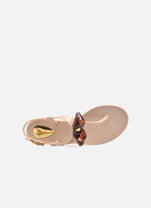 Sandales et nu-pieds Lemon Jelly Fold Beige vue gauche