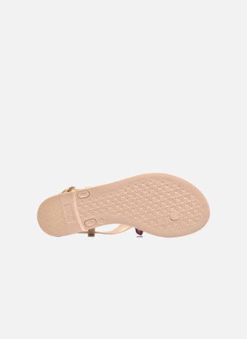 Sandals Lemon Jelly Fold Beige view from above
