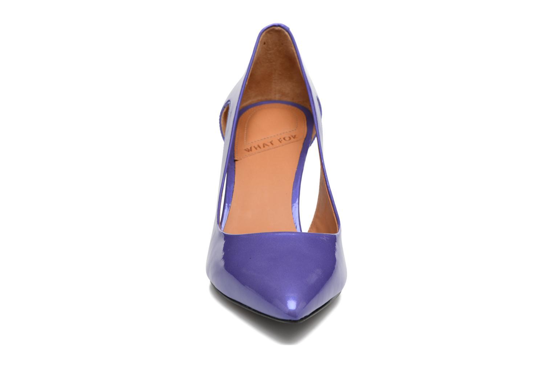 Zapatos de tacón What For Cosmos Azul vista del modelo