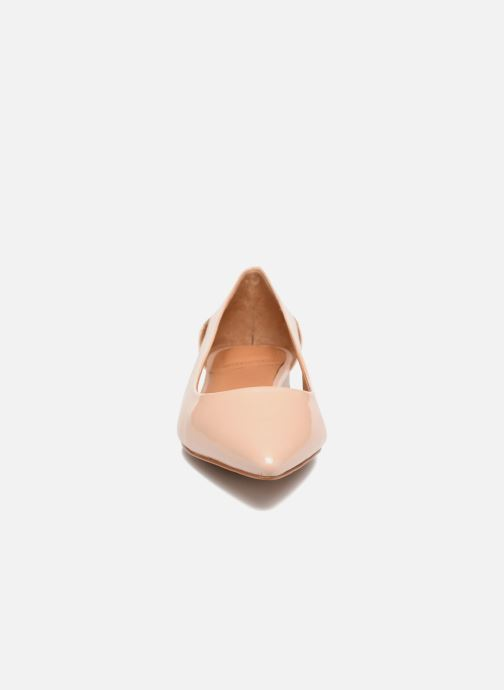 Ballerines What For Galactic Beige vue portées chaussures