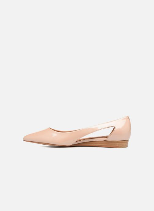 Ballet pumps What For Galactic Beige front view