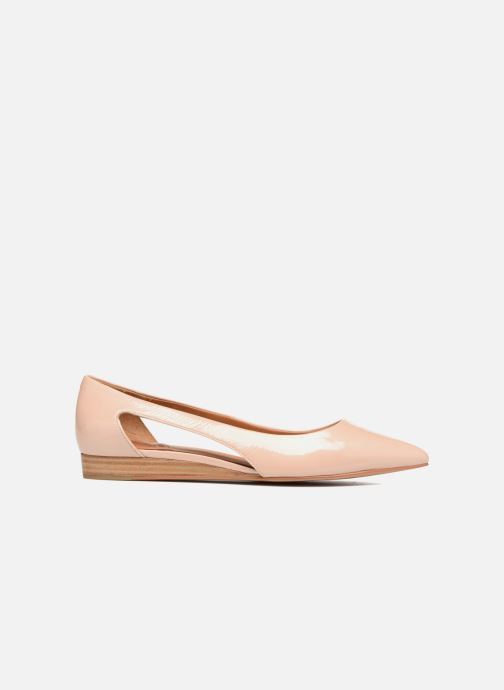 Ballet pumps What For Galactic Beige back view