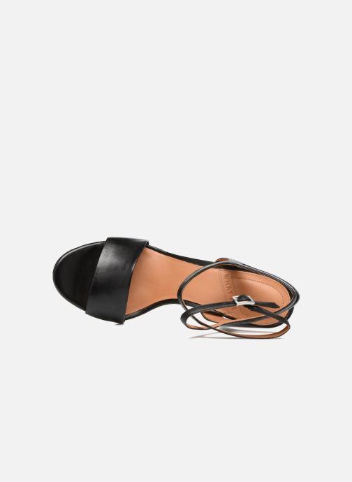 Sandali e scarpe aperte What For Maïa Nero immagine sinistra