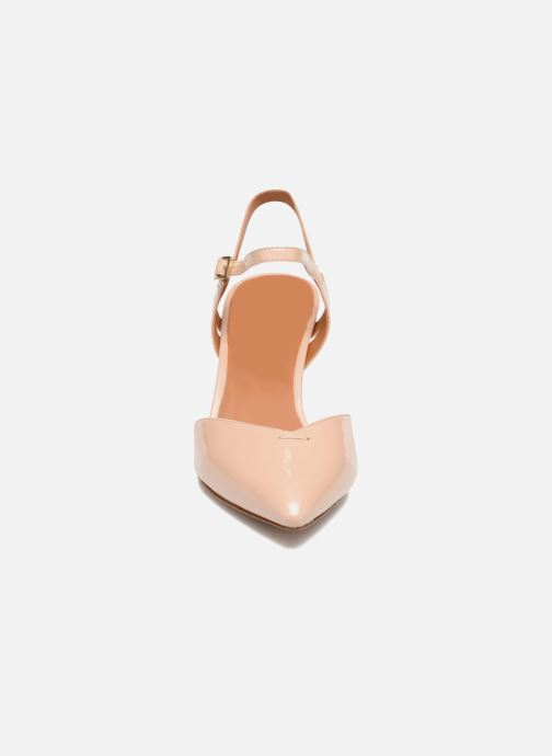 High heels What For Flamsteed Beige model view