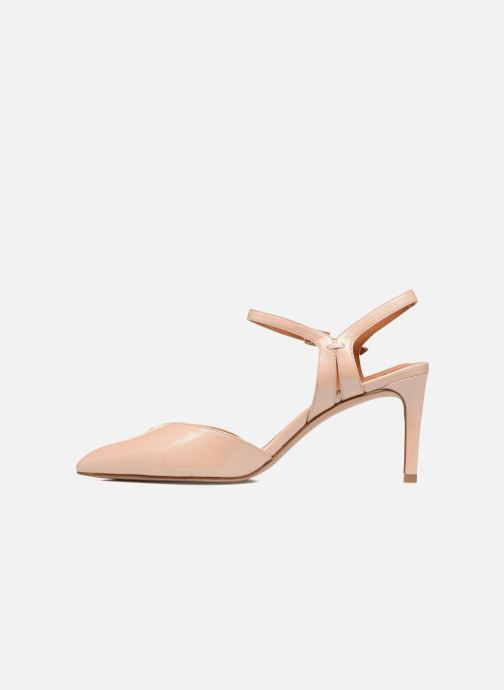 High heels What For Flamsteed Beige front view