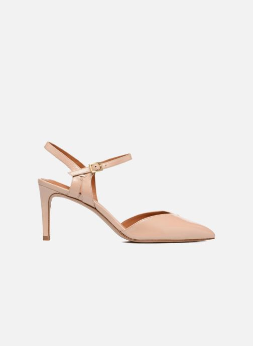 High heels What For Flamsteed Beige back view