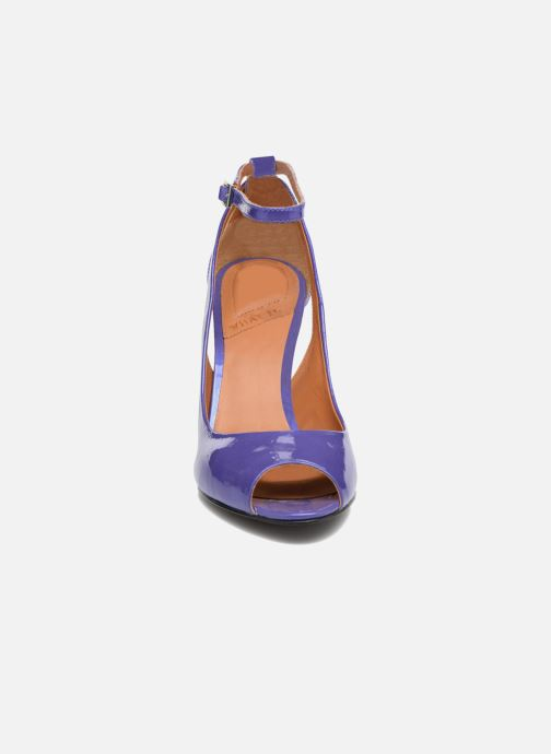 Escarpins What For Ursa Bleu vue portées chaussures