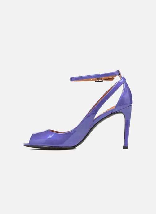 High heels What For Ursa Blue front view