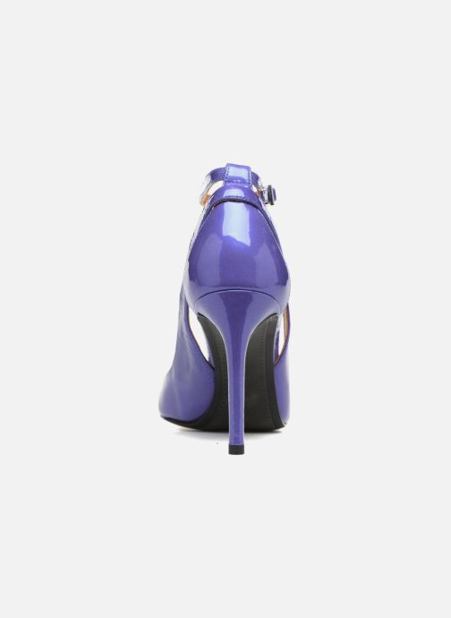 High heels What For Ursa Blue view from the right