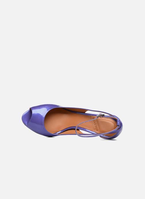 Zapatos de tacón What For Ursa Azul vista lateral izquierda