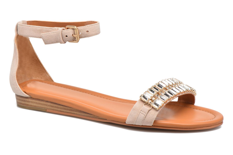 Sandales et nu-pieds What For Venus Beige vue détail/paire