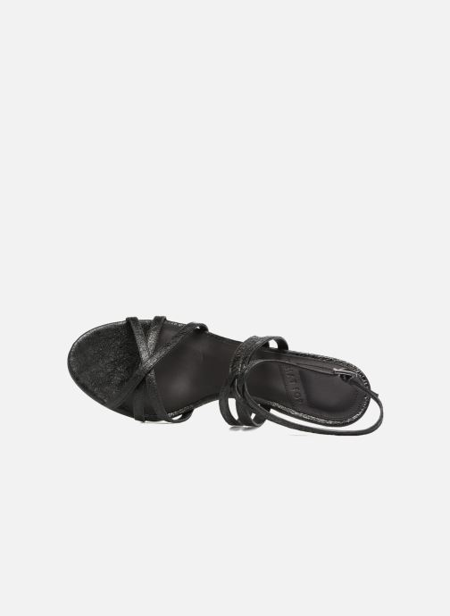 Sandali e scarpe aperte What For Meteor Nero immagine sinistra