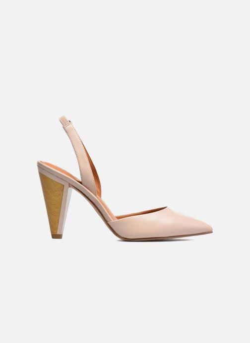 High heels What For Interstellar Beige back view