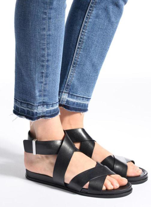 Sandali e scarpe aperte What For Epsilon Nero immagine dal basso