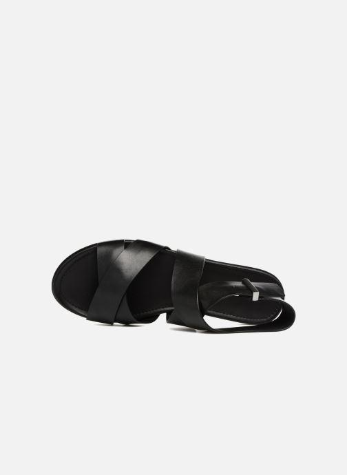 Sandali e scarpe aperte What For Epsilon Nero immagine sinistra