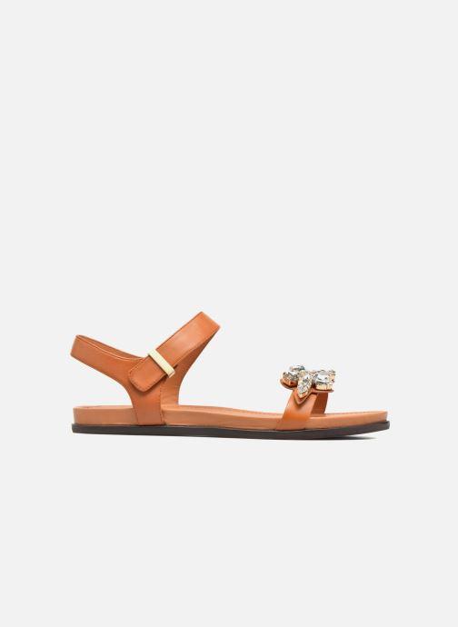Sandalen What For Leonis braun ansicht von hinten