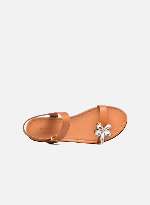 Sandali e scarpe aperte What For Leonis Marrone immagine sinistra