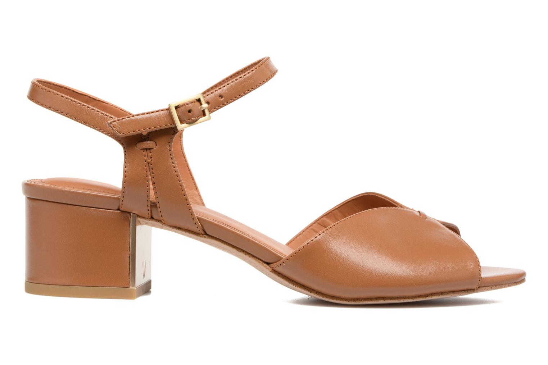 Sandales et nu-pieds What For Mercury Marron vue derrière