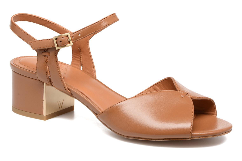 Sandales et nu-pieds What For Mercury Marron vue détail/paire
