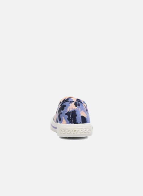 Baskets Rocket Dog Jumpin Bleu vue droite