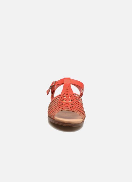 Sandales et nu-pieds Rocket Dog Niko Rouge vue portées chaussures