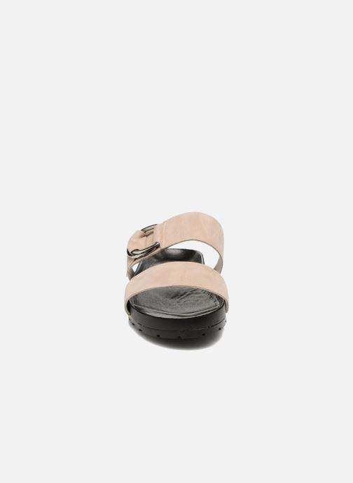 Zoccoli Vagabond Shoemakers Erie 4332-040 Beige modello indossato