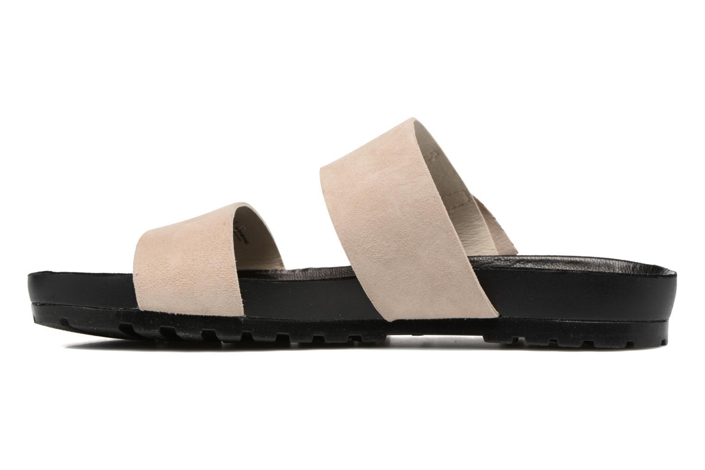 Zoccoli Vagabond Shoemakers Erie 4332-040 Beige immagine frontale