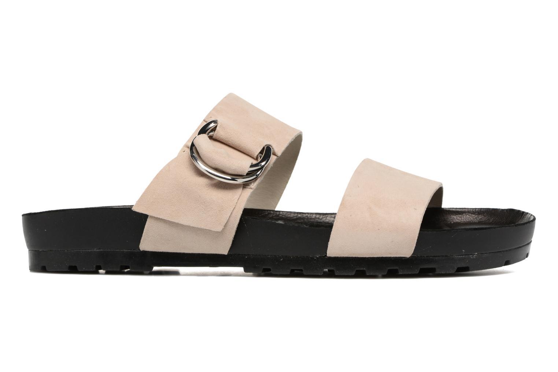 Zoccoli Vagabond Shoemakers Erie 4332-040 Beige immagine posteriore