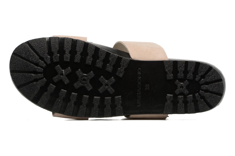 Zoccoli Vagabond Shoemakers Erie 4332-040 Beige immagine dall'alto