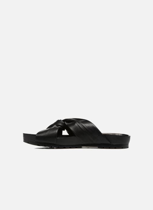 Zuecos Vagabond Shoemakers Erie 4332-101 Negro vista de frente