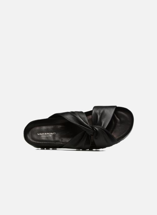 Zuecos Vagabond Shoemakers Erie 4332-101 Negro vista lateral izquierda