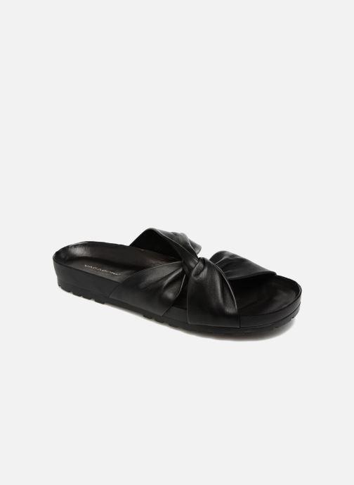 Zuecos Vagabond Shoemakers Erie 4332-101 Negro vista de detalle / par