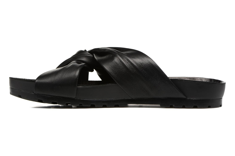 Zoccoli Vagabond Shoemakers Erie 4332-101 Nero immagine frontale
