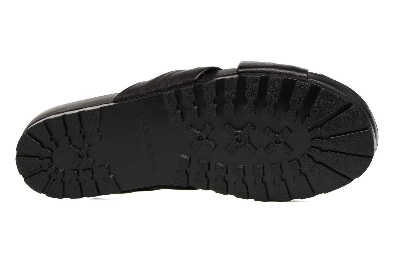 Zoccoli Vagabond Shoemakers Erie 4332-101 Nero immagine dall'alto