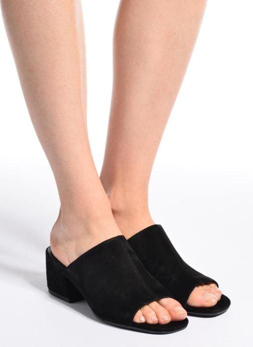 Clogs & Pantoletten Vagabond Shoemakers Saide 4335-040 schwarz ansicht von unten / tasche getragen