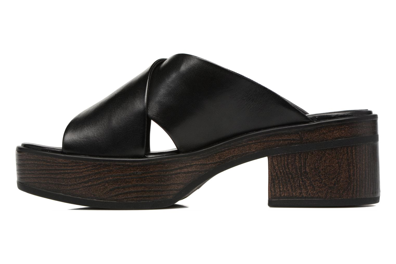 Mules & clogs Vagabond Shoemakers Noor 4336-101 Black front view