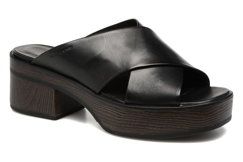Mules & clogs Vagabond Shoemakers Noor 4336-101 Black detailed view/ Pair view