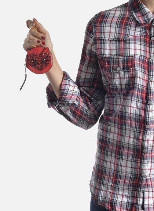 Övrigt KARL LAGERFELD Valentine purse Röd bild från ovan