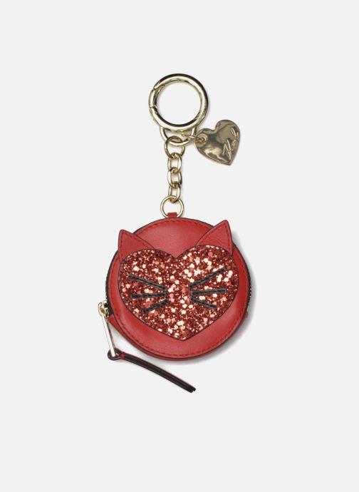 Övrigt KARL LAGERFELD Valentine purse Röd detaljerad bild på paret