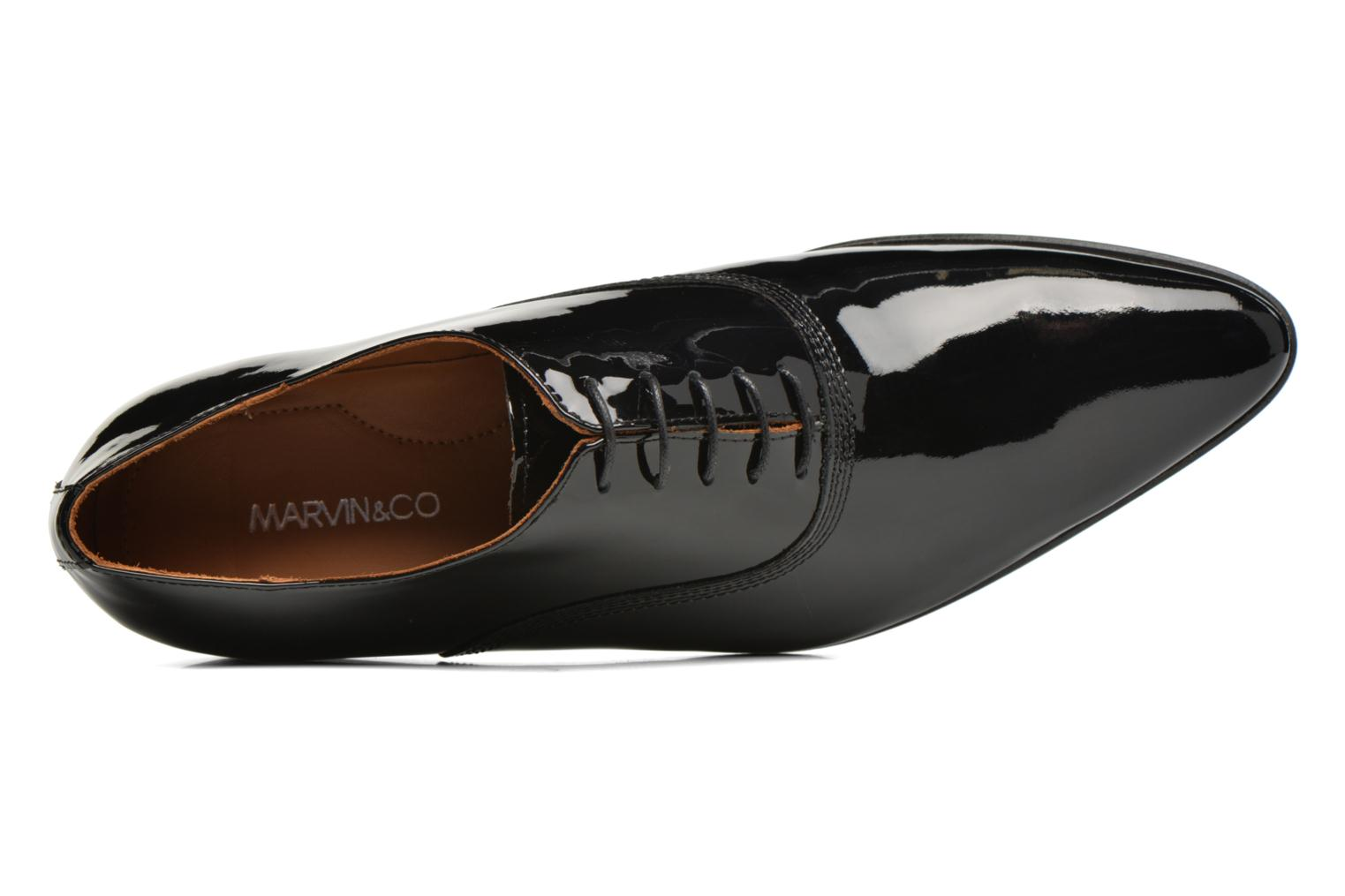 Veterschoenen Marvin&Co Nottoning Zwart links