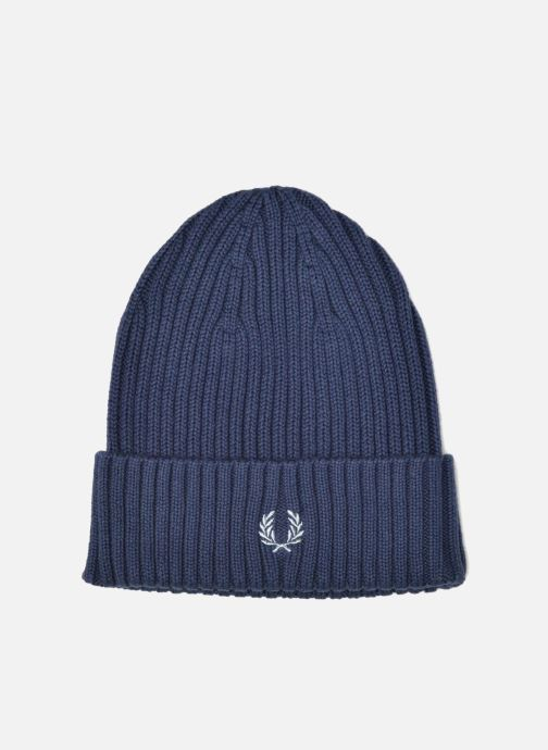 Bonnets Fred Perry COTTON RIBBED BEANIE Bleu vue détail/paire